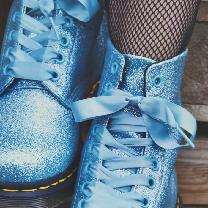 Pascal Glitter Turquoise