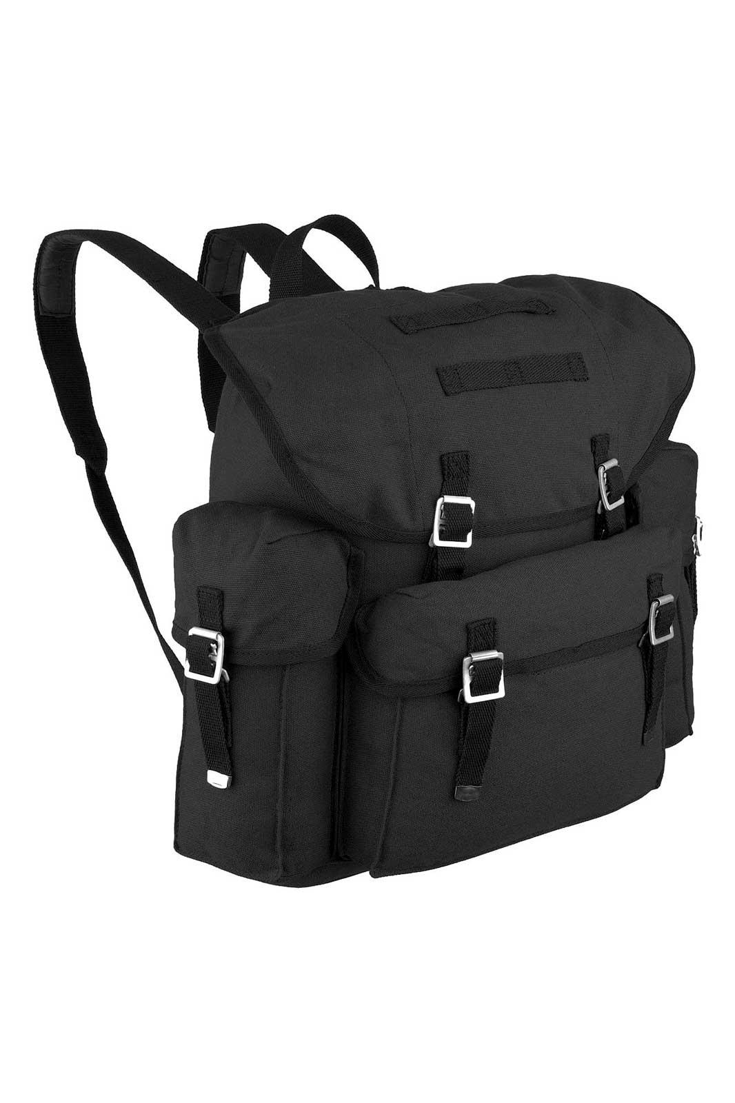 BW Backpack Black Front