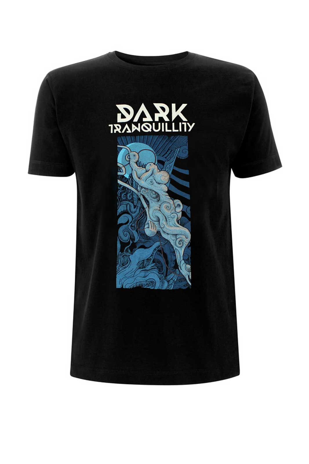 Tee Dark Tranquility Atoma Black Front