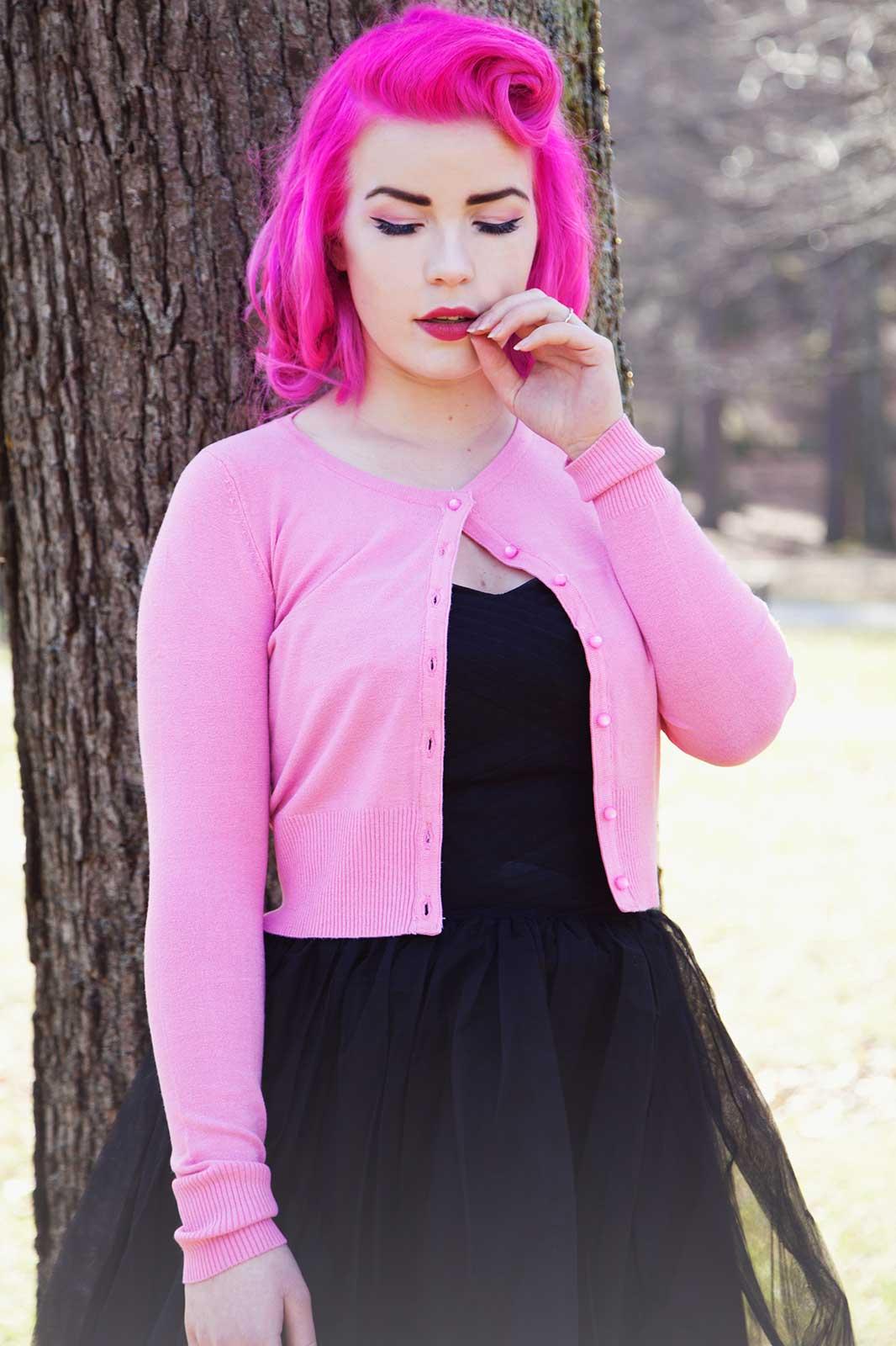 Paloma Cardigan Pink