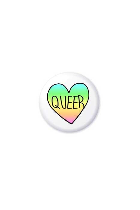 Queer Heart Badge