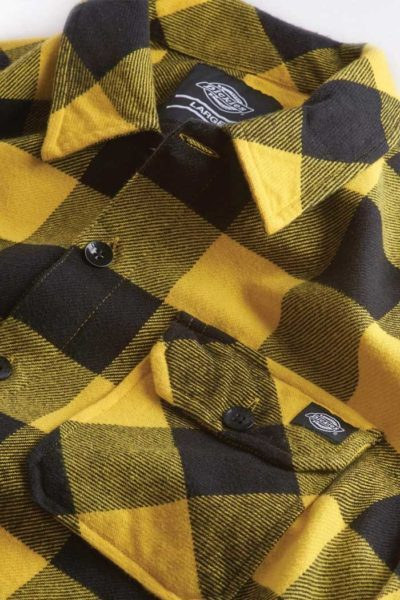 Sacramento Shirt Yellow Pattern