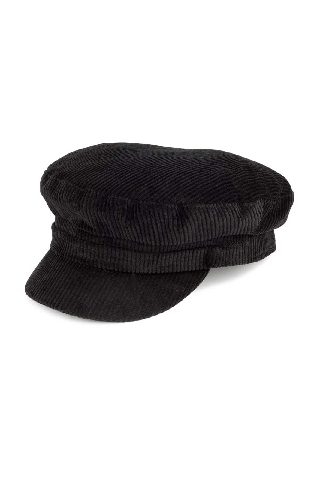 Sailor Fiddler Corduroy Cap Black