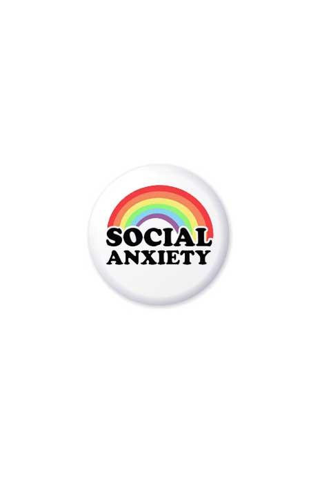 Social Anxiety Badge