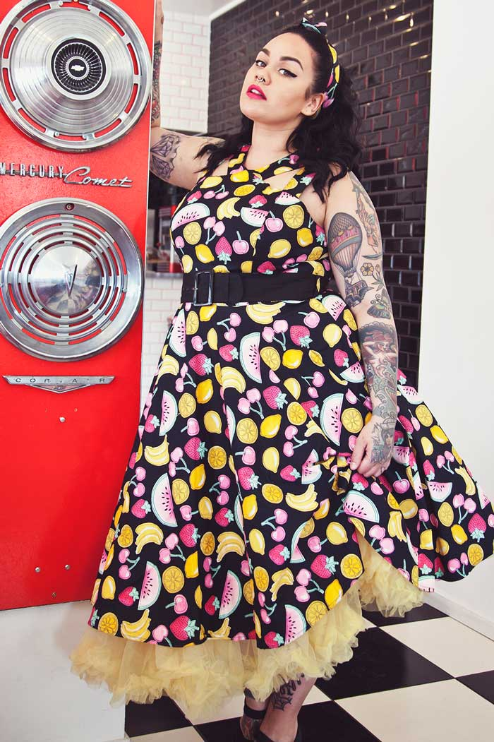 Tutti Frutti 50's Dress Rockabilly