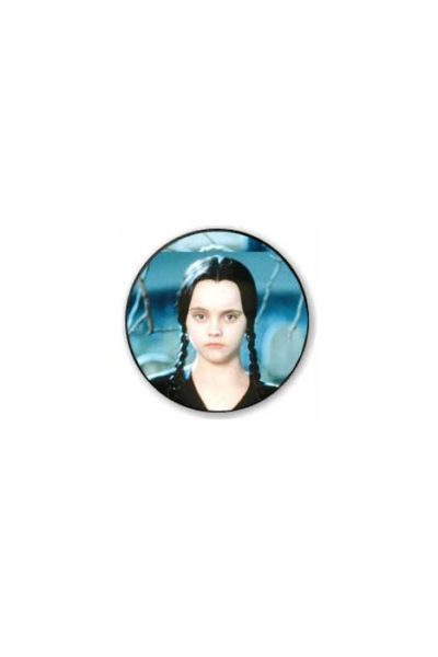 Wednesday Addams Badge