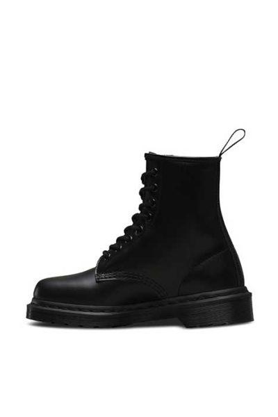 1460 Mono 8 eye boot Black