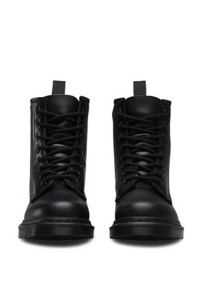 1460 Mono 8 eye boot Black