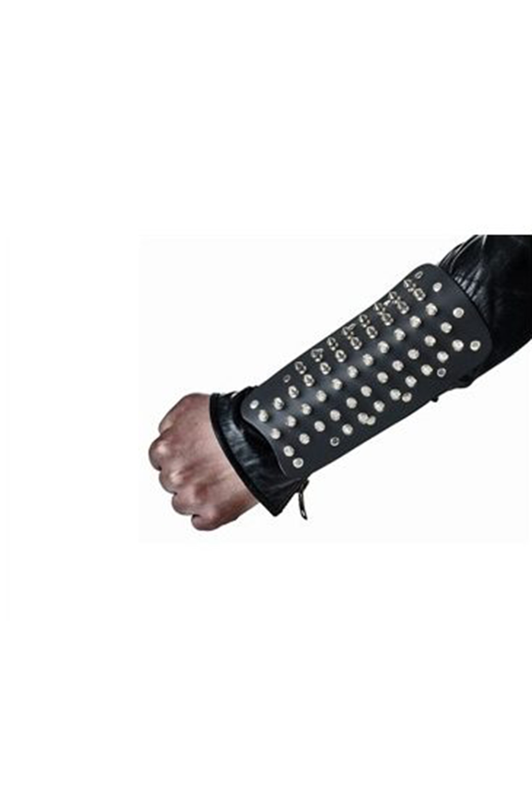 Cone arm gauntlet Black