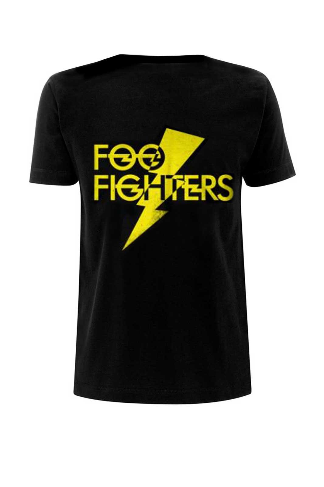 Tee Foo Fighters Lightning Strike Black