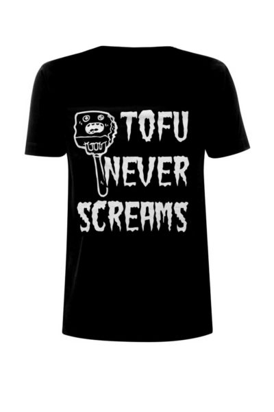 Tee Tofu Never Screams Black