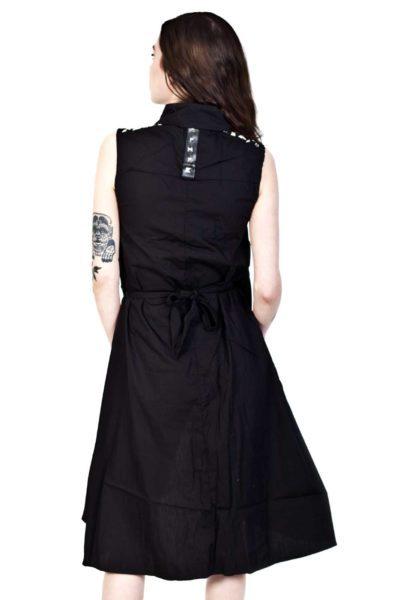 Aino Dress Black Back