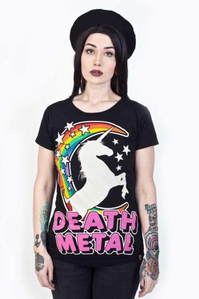 Death Metal Tee Black framsida