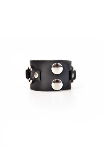 2 Row Metal Loop Wristband