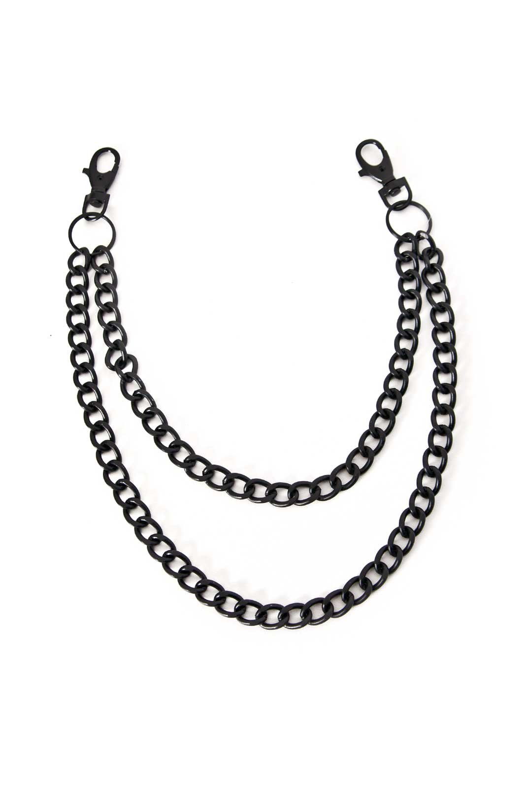 Double Diamond Chain Black