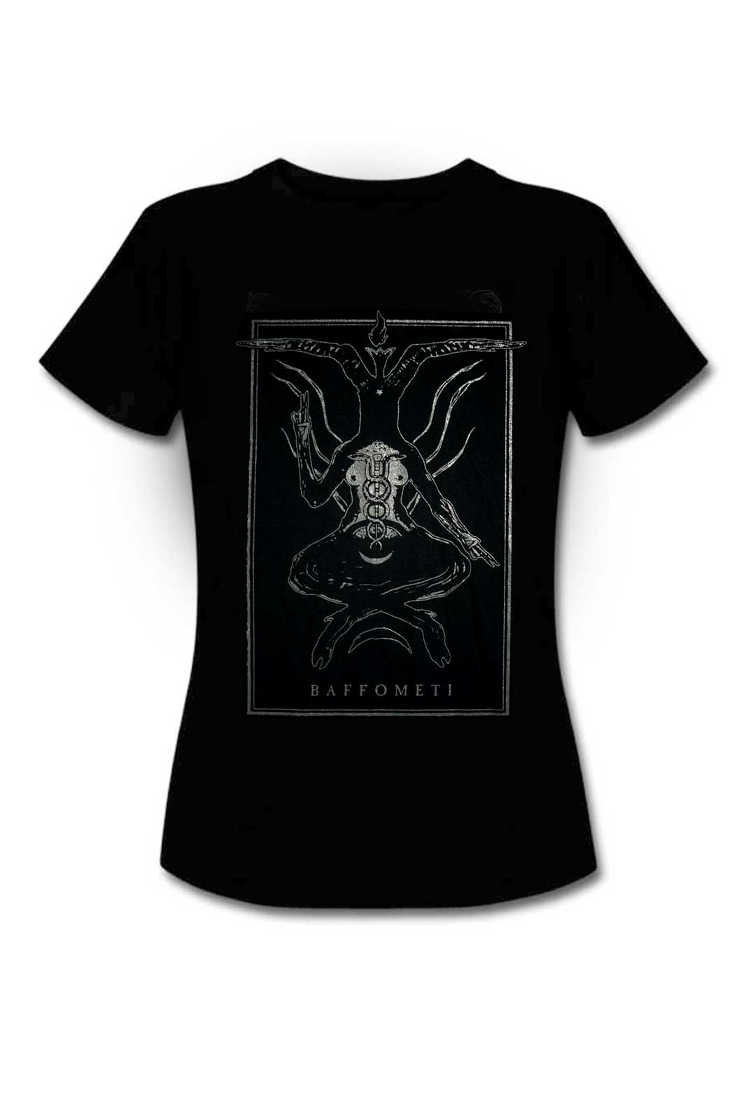 Ladies Tee Baphomet Black