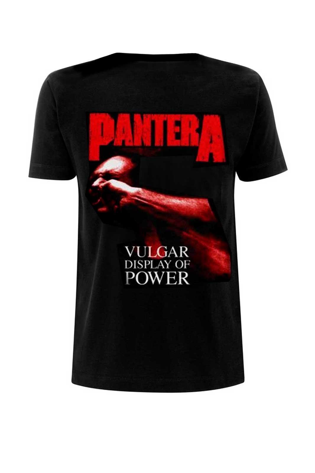Tee Pantera Vulgar Black
