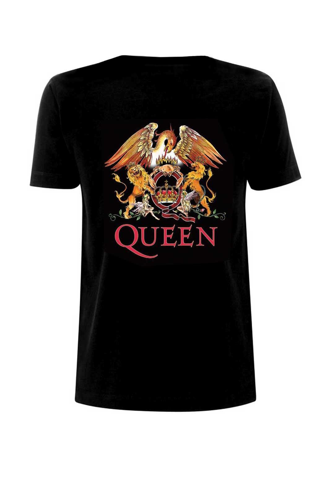 Tee Queen Classic Crest Black