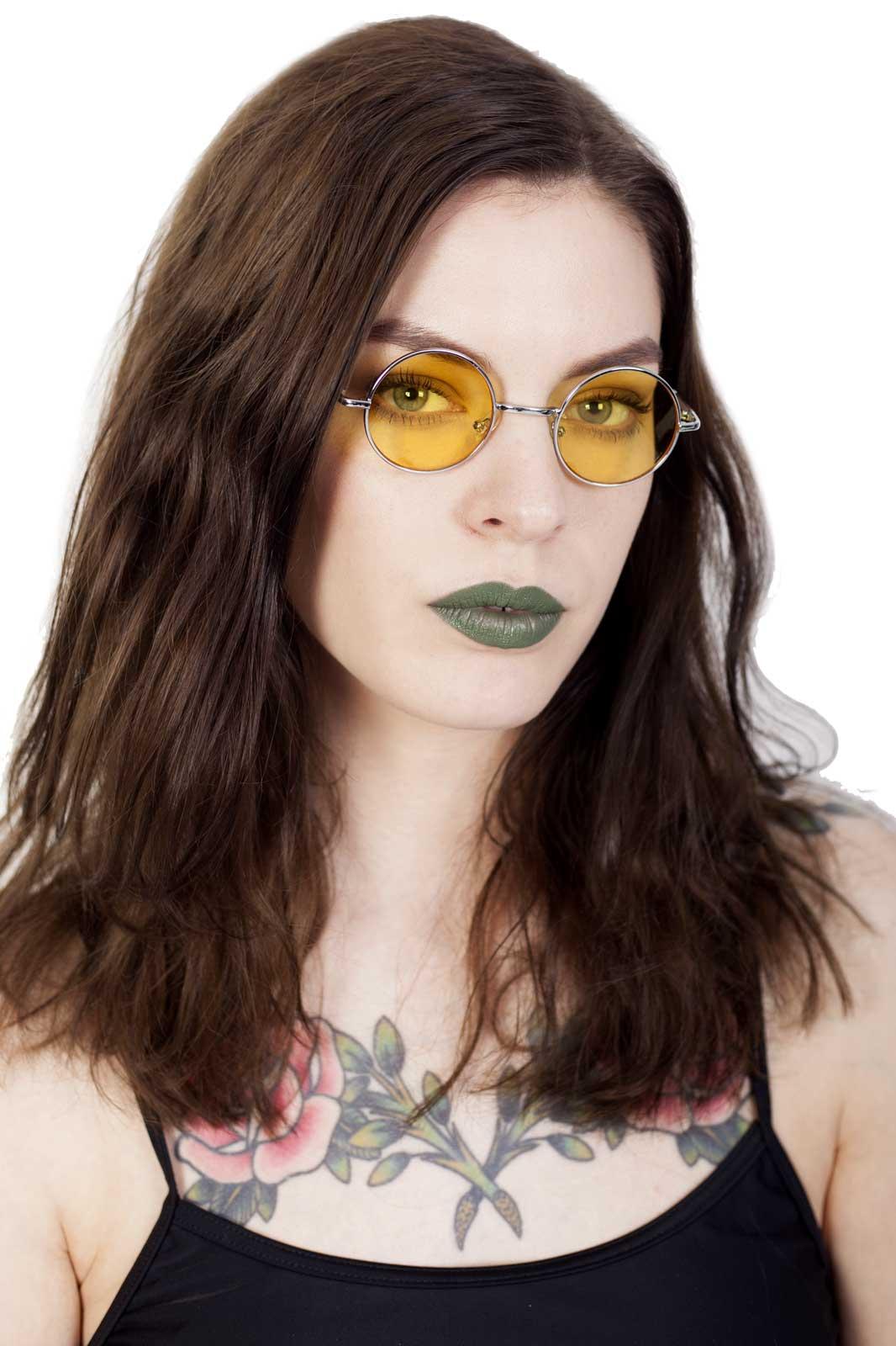 Small Lennon Sunglasses Yellow