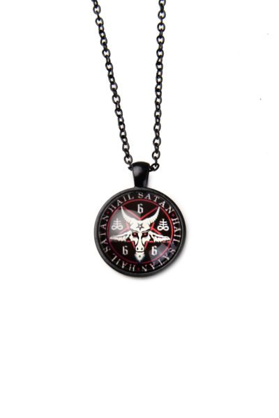 Hail Satan Necklace