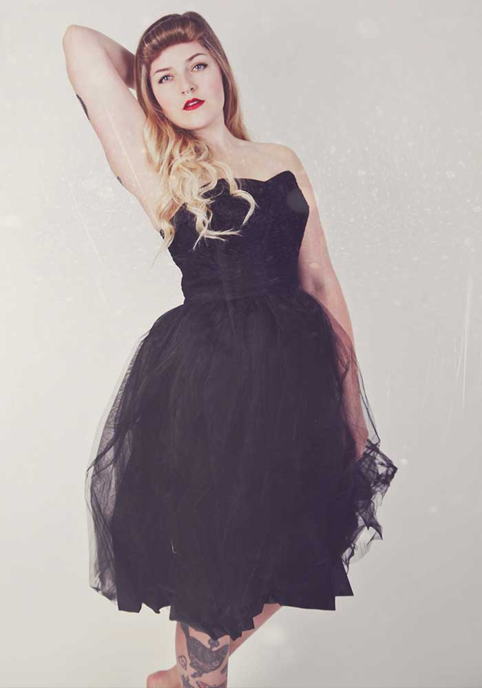 Rockabilly Black Dress
