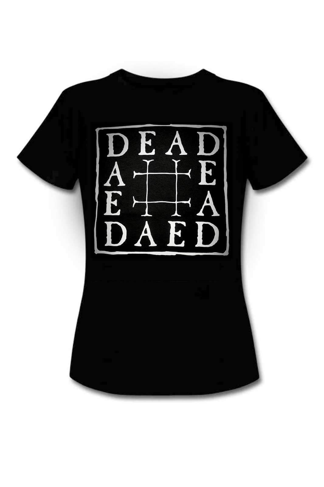 Ladies Tee Dead Black