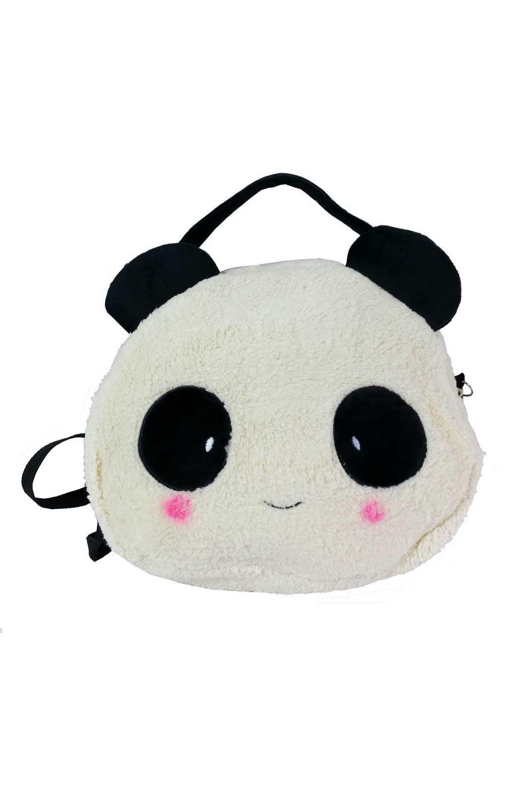 Fluffy Panda Bag