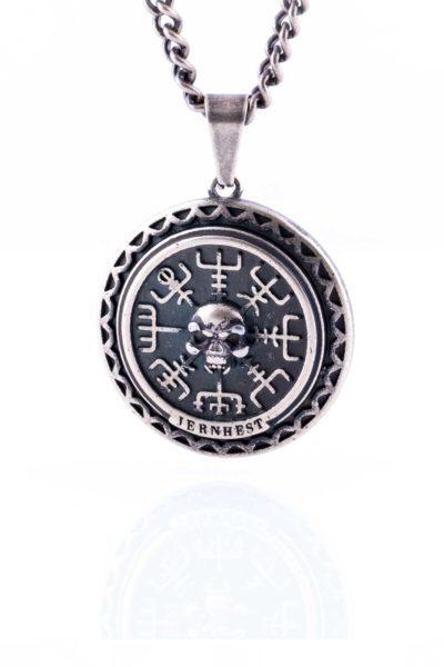 Necklace Leon Brass framsida
