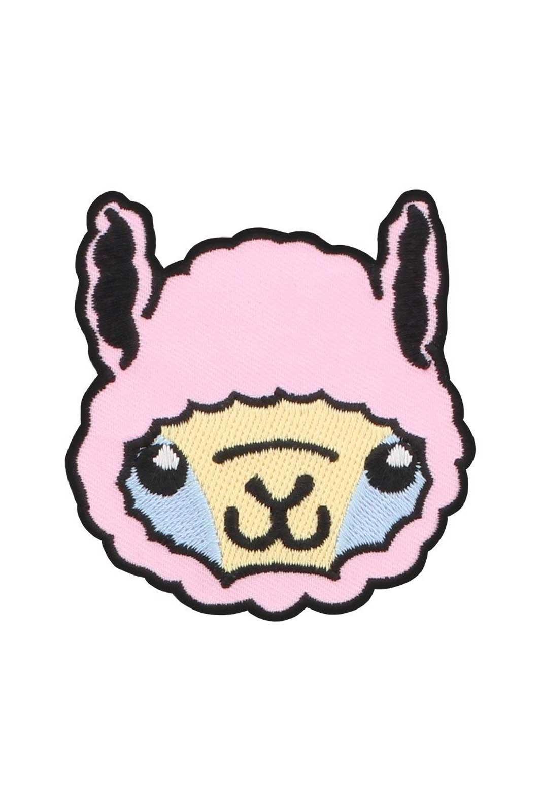 Kawaii Alpaca patch
