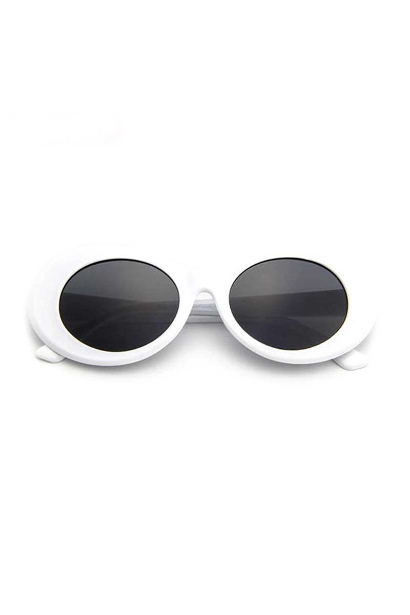Kurt Cobain Sunglasses White