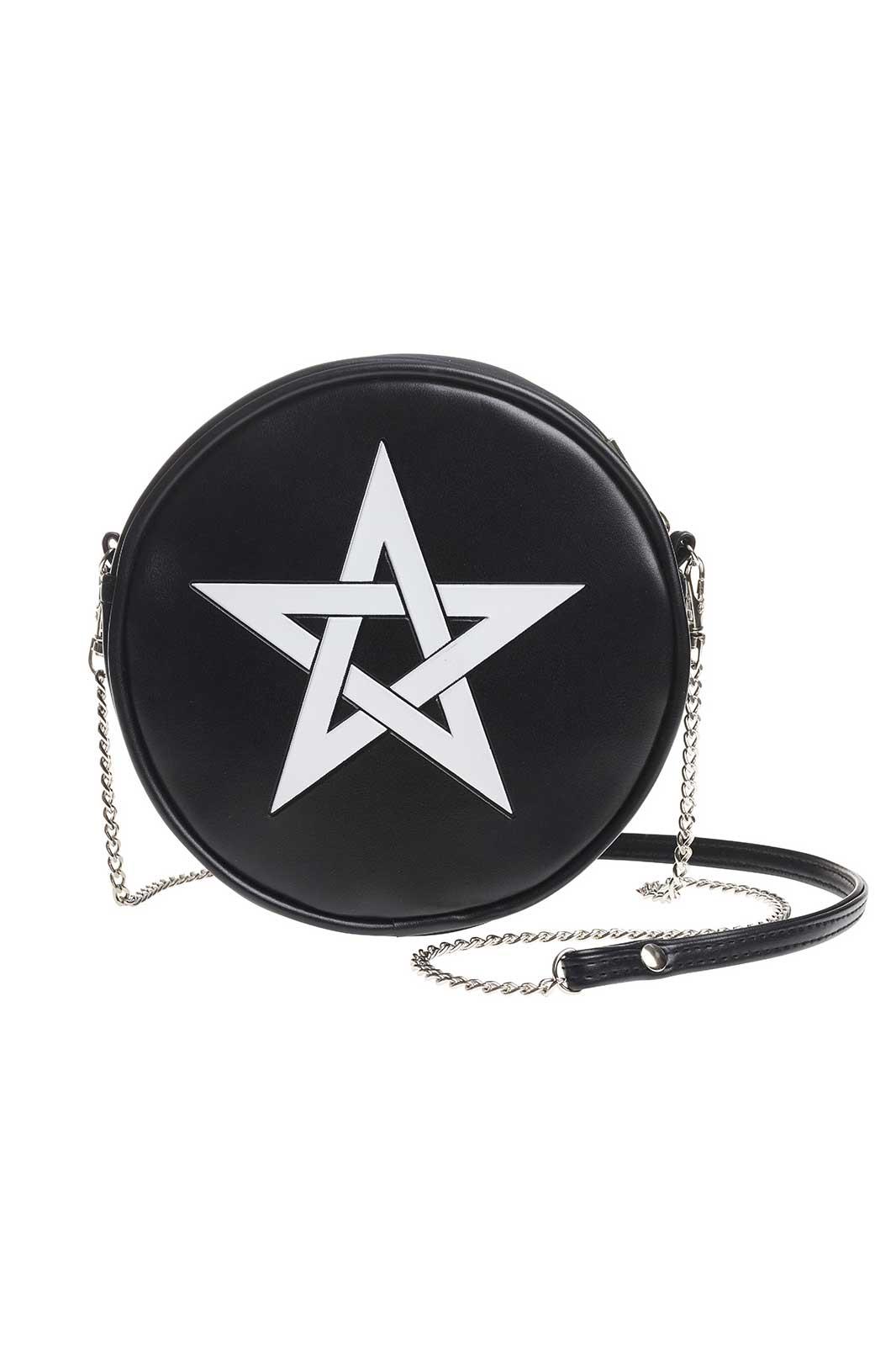 Pentagram Round Mini Bag
