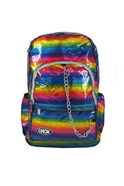 Holographic Rainbow Backpack