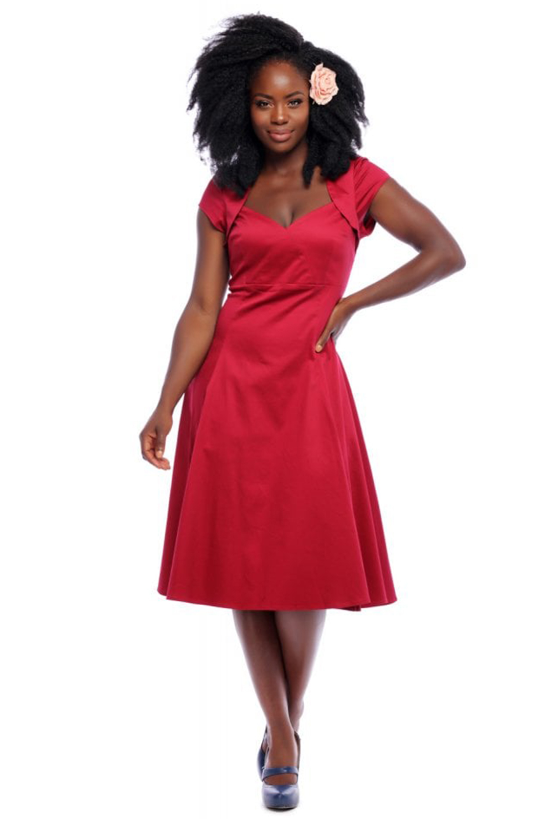 Regina Doll Dress Red
