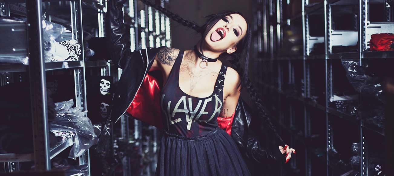 Slayer Dress Look