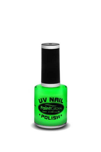 UV Neon Nail polish Green