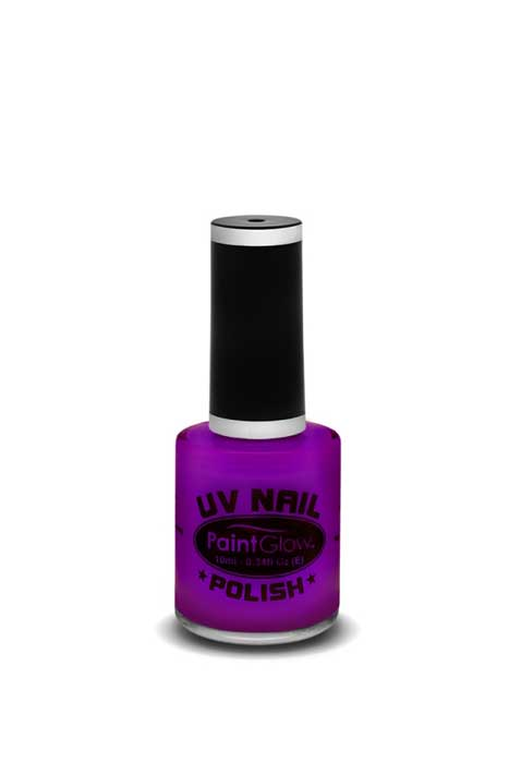 UV Neon Nail Polish Violet