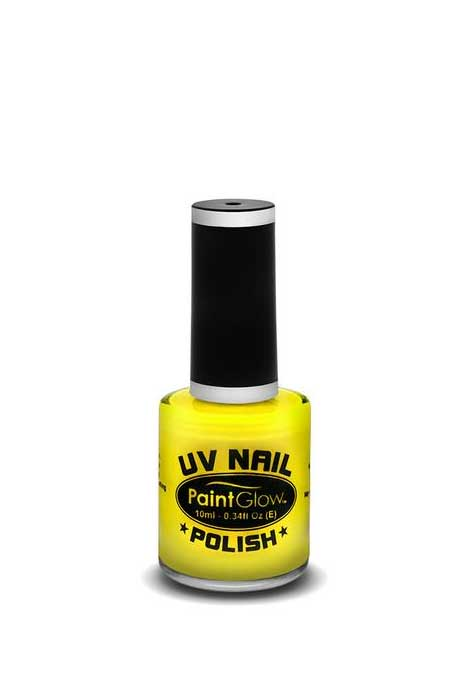 UV Neon Nail polish Yellow