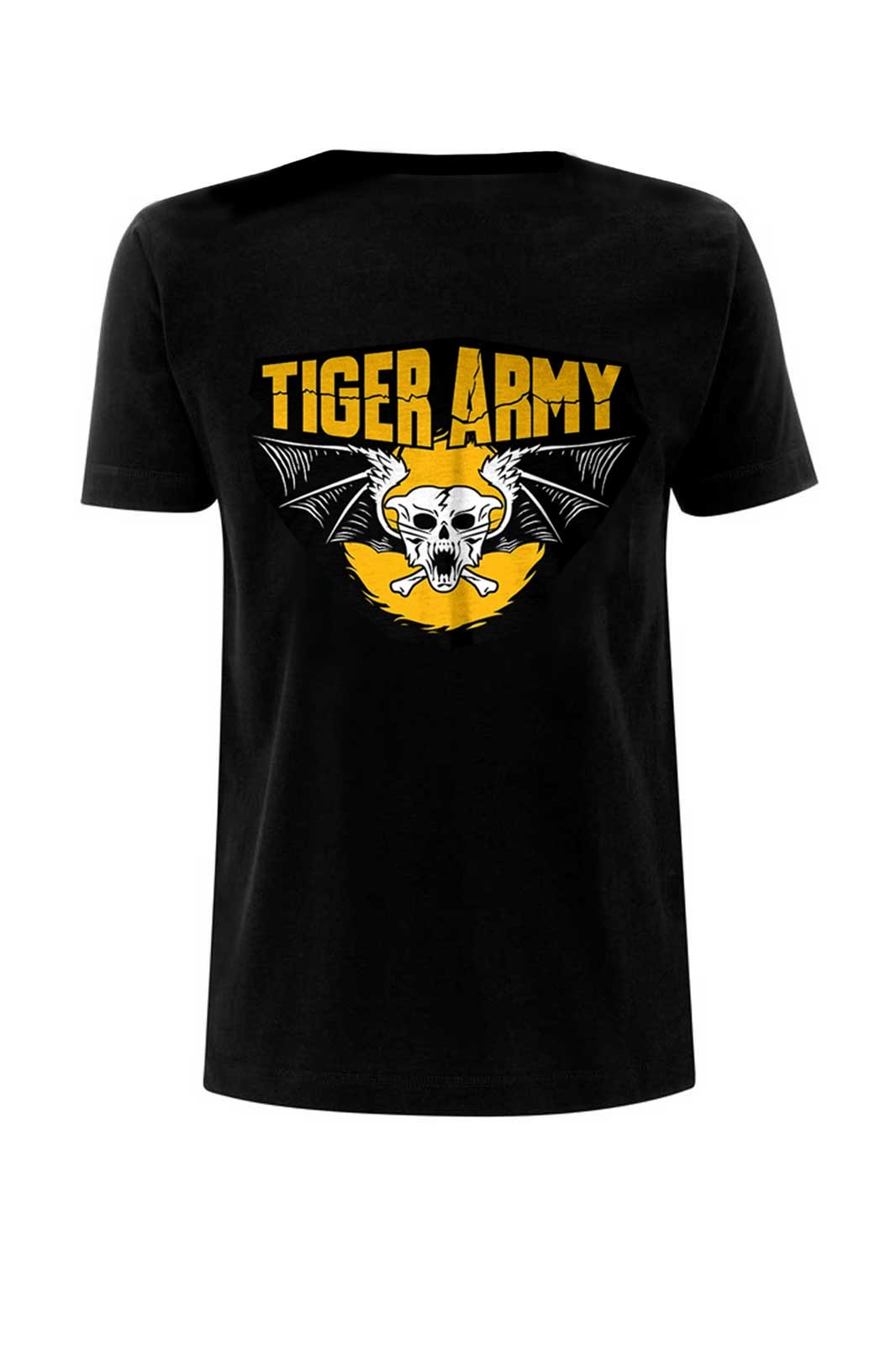 Tee Tiger Army Skull Tiger Black
