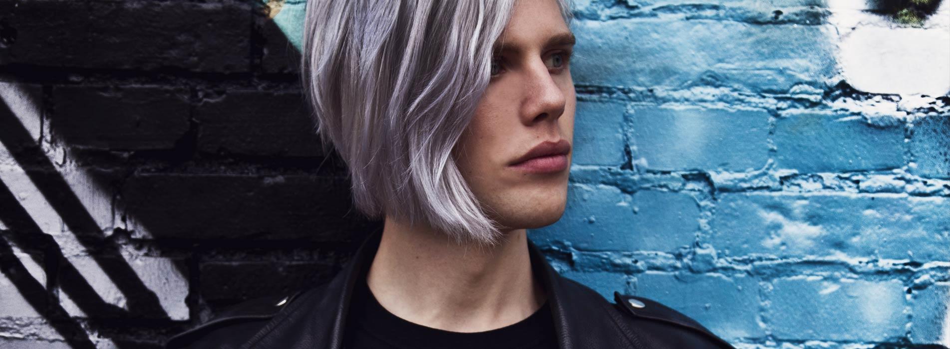 blanda grå hårfärg