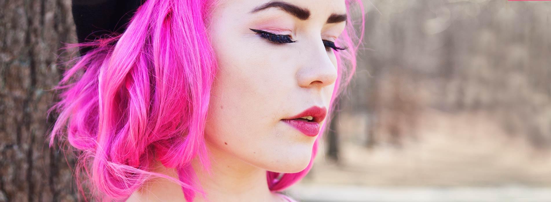 rosa hårfärg online