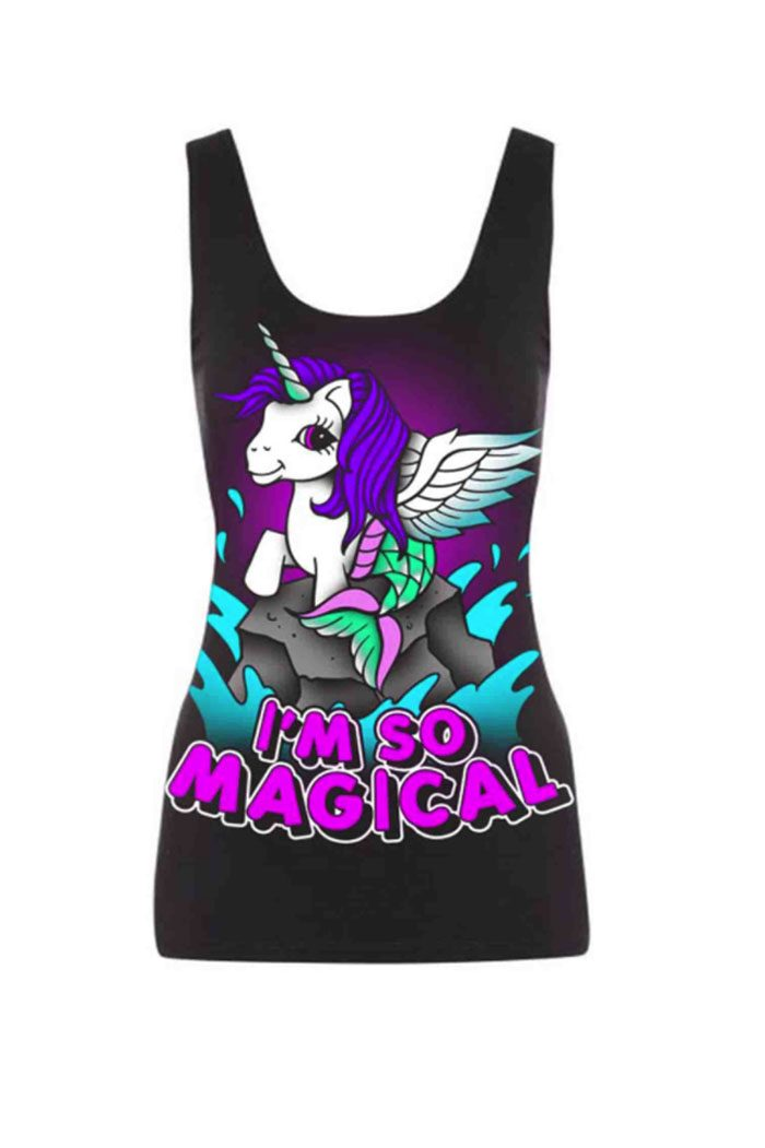 I'm Magical Vest Black