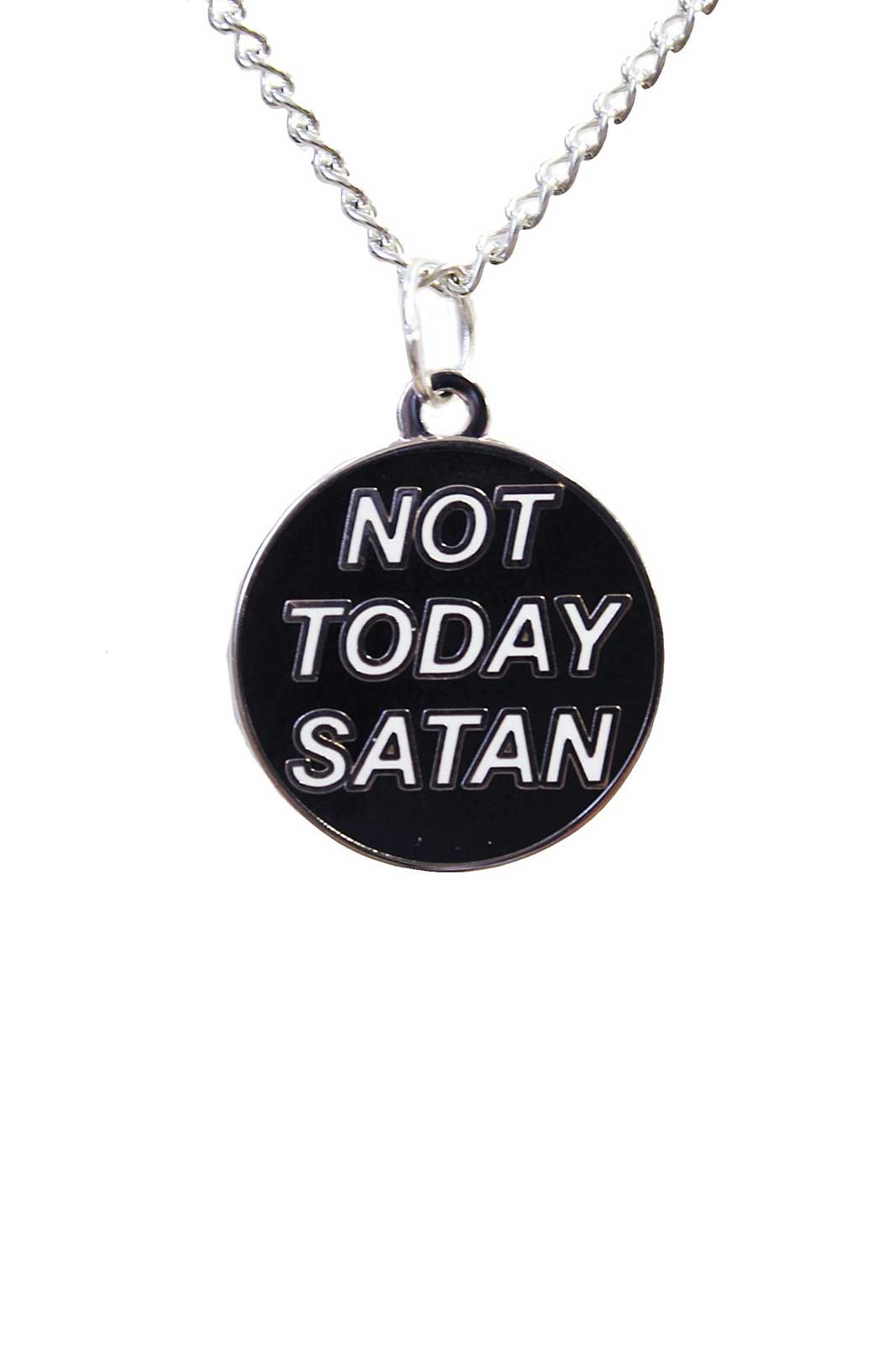 Not Today Satan Chain Necklace