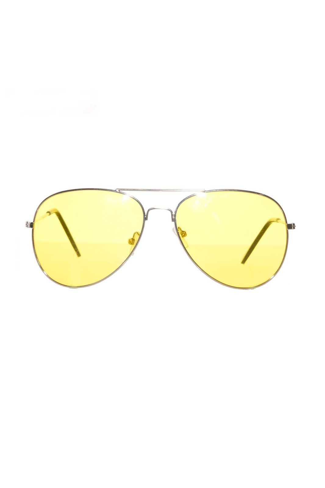 Yellow Aviators Solglasögon