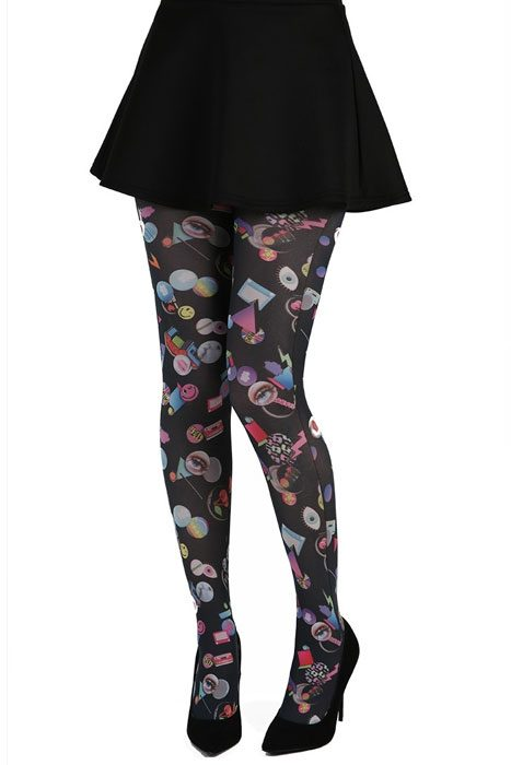 Badges Tights Black