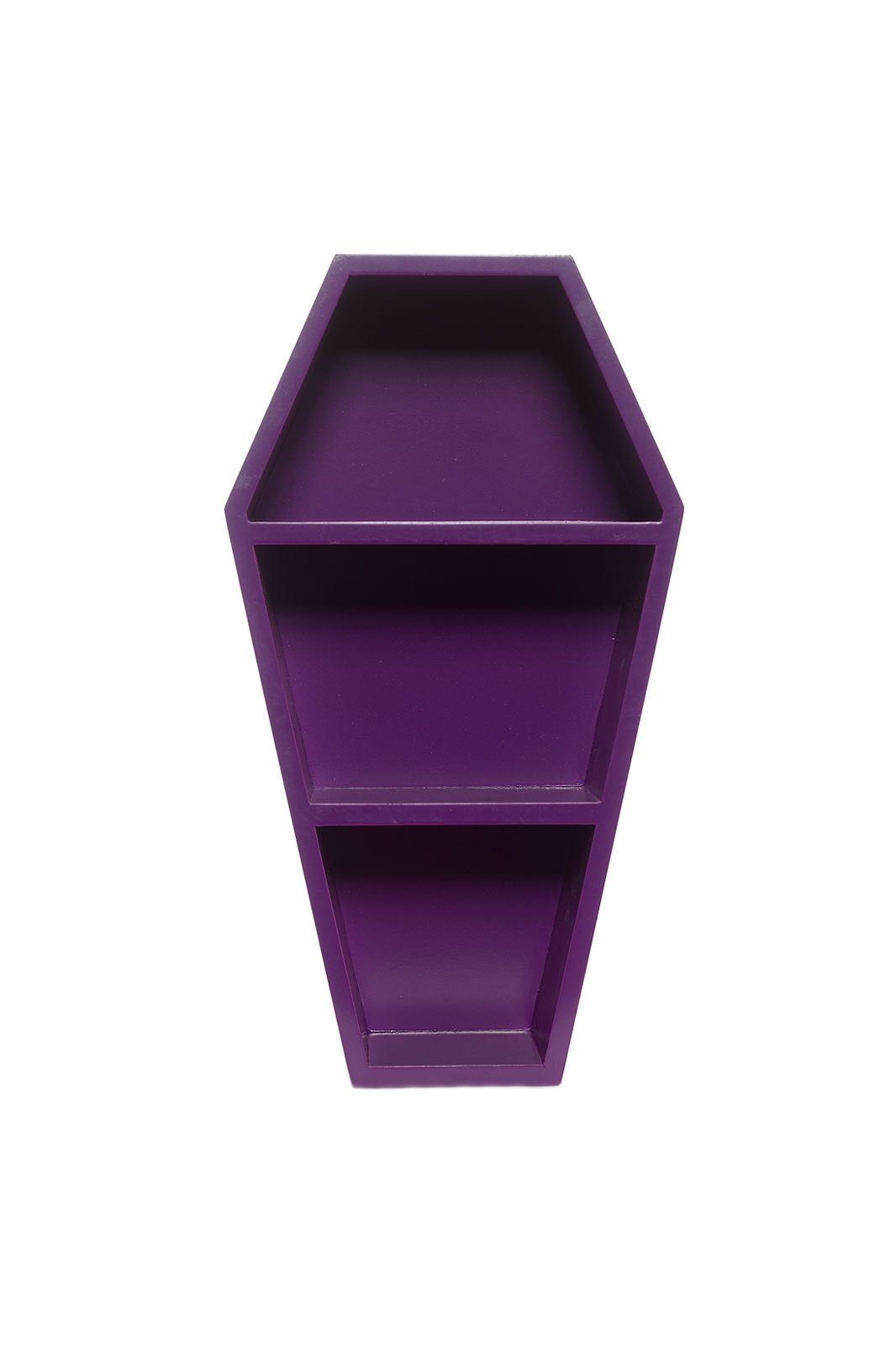 Coffin Wall Shelf Purple framsida
