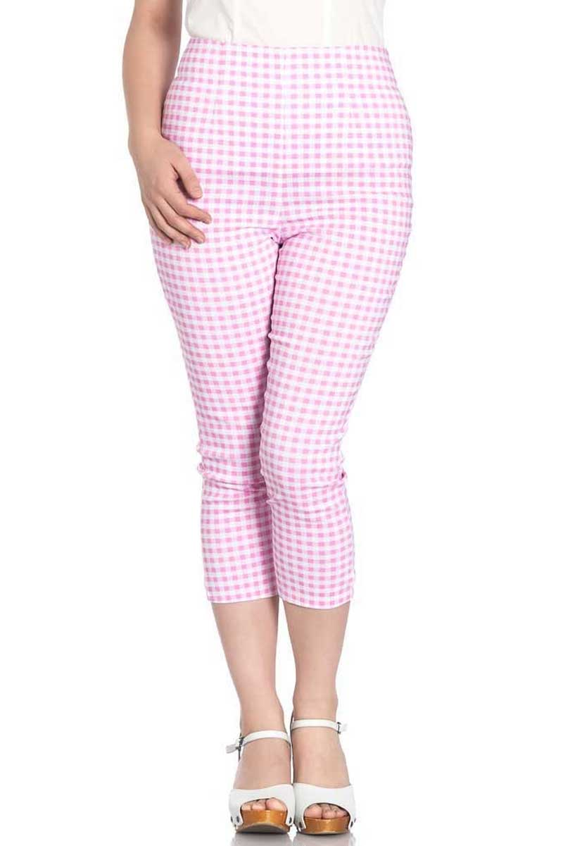 Judy Capris Pants Pink framsida