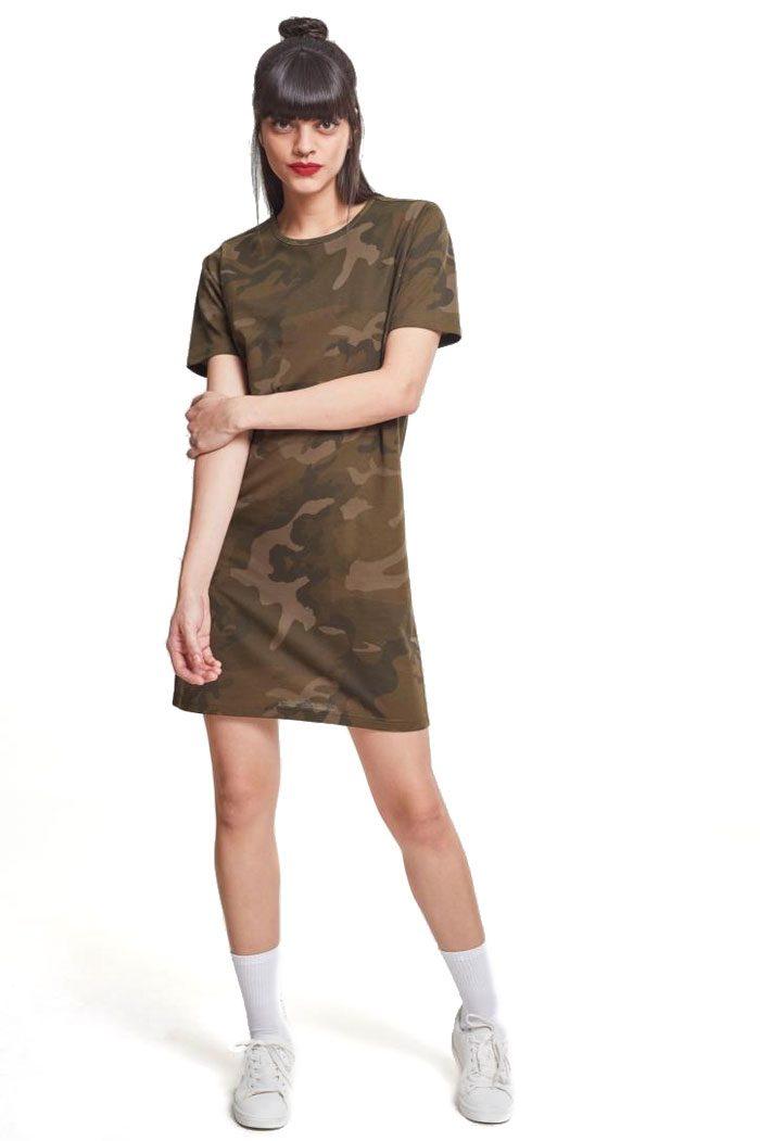 Camo Tee Dress Camo