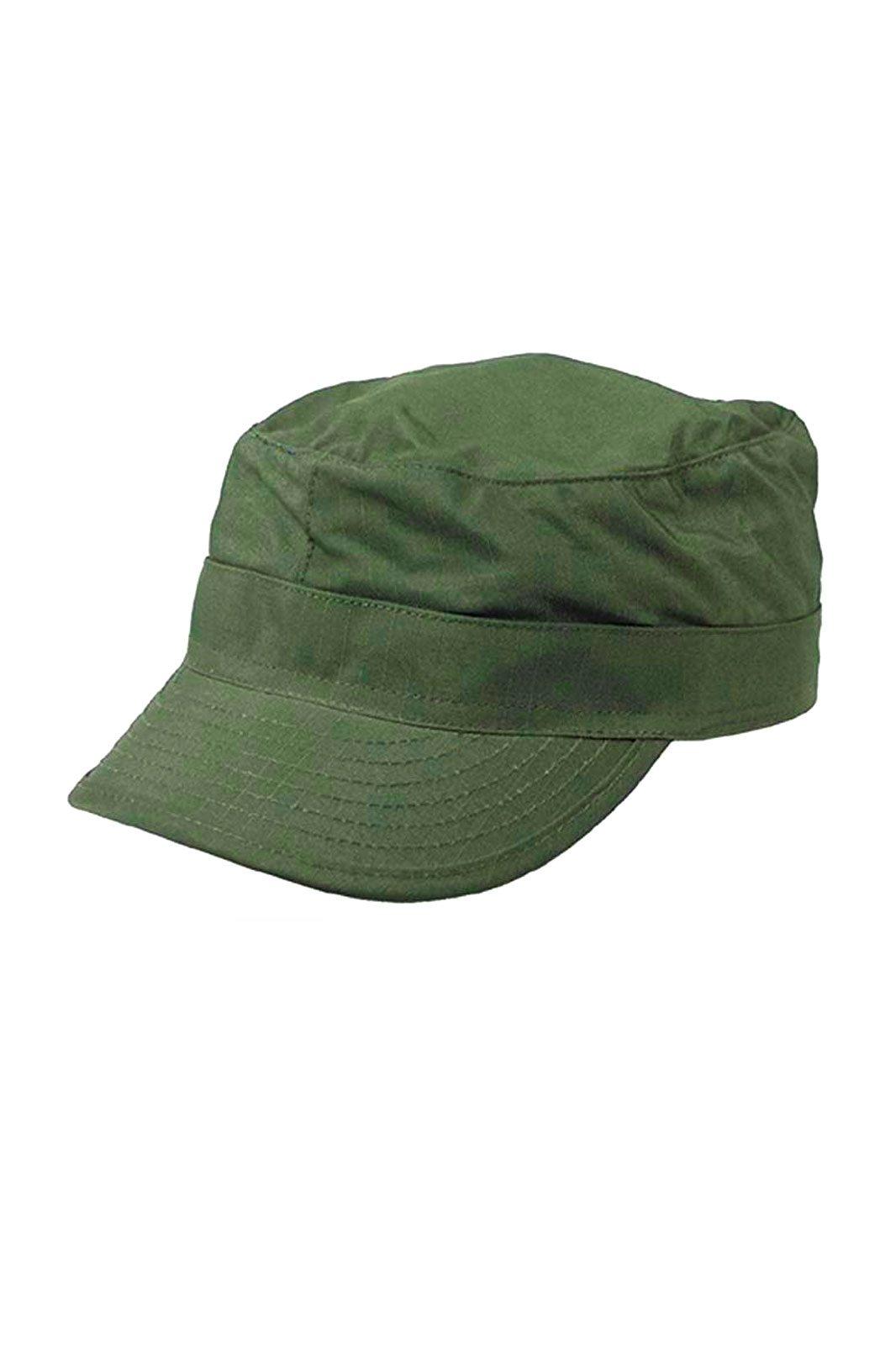 US BDU Field Cap Rip Stop Olive Green