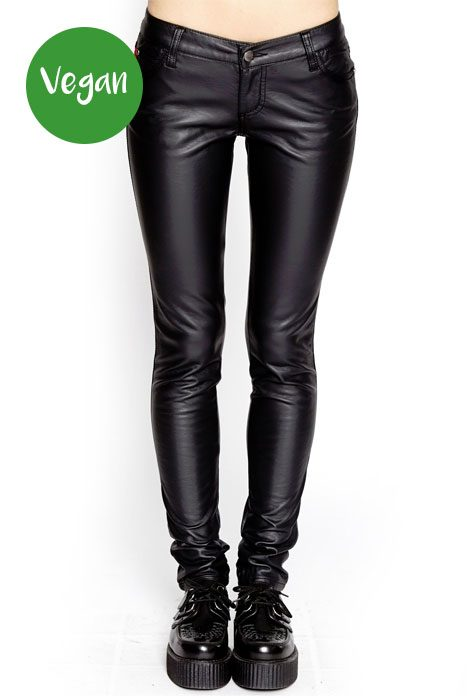Ladies Deville Pleather Pants