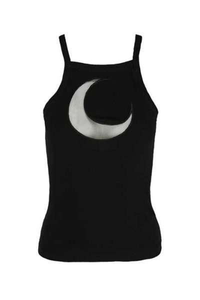 Top Mesh Moon Black